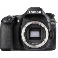 Зеркальная фотокамера Canon EOS 80D Body WiFi (1263C031) Black