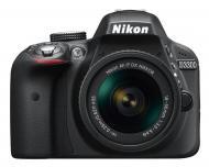 Зеркальная фотокамера Nikon D3300 + AF-P 18-55 Non-VR KIT (VBA390K010) Black