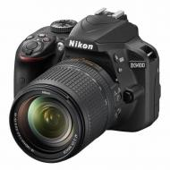 Зеркальная фотокамера Nikon D3400 Kit 18-140 VR (VBA490KV01) Black