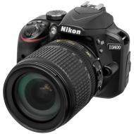 Зеркальная фотокамера Nikon D3400 KIT AF-S DX 18-105 VR (VBA490K003) Black