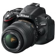 Зеркальная фотокамера Nikon D5100 + 18-55VR KIT + SLR Bag + SD16GB (VBA310KG11) Black