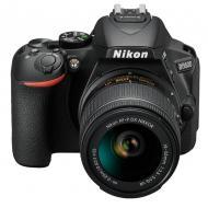 Зеркальная фотокамера Nikon D5600 + AF-P 18-55 VR Kit (VBA500K001) Black