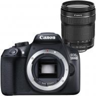 Зеркальная фотокамера Canon EOS 1300D 18-135 IS Kit (1160C089) Black
