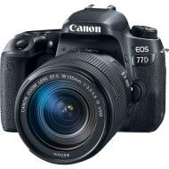 Зеркальная фотокамера Canon EOS 77D 18-135 IS nano USM KIT (1892C024AA) Black