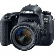 Зеркальная фотокамера Canon EOS 77D 18-55 IS STM (1892C022AA) Black