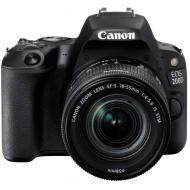 Зеркальная фотокамера Canon EOS 200D kit 18-55 IS STM (2250C017) Black