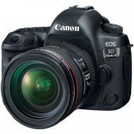 Зеркальная фотокамера Canon EOS 5D Mark IV + 24-70mm f/4L IS USM (1483C033) Black