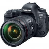 Зеркальная фотокамера Canon EOS 6D MKII + 24-70 L IS (1897C028) Black
