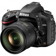 Зеркальная фотокамера Nikon D610 + 24-85mm (VBA430K001) Black