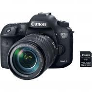 Зеркальная фотокамера Canon EOS 7D Mark II + 18-135 IS USM + WiFi W-E1 (9128B163) Black