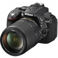 Зеркальная фотокамера Nikon D5300 kit 18-140VR (VBA370K002) Black