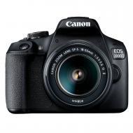 Зеркальная фотокамера Canon EOS 2000D + 18-55 IS II (2728C008) Black
