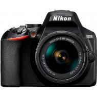 Зеркальная фотокамера Nikon D3500 + AF-P 18-55 non VR (VBA550K002) Black
