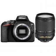 Зеркальная фотокамера Nikon D3500 + AF-S 18-140 VR (VBA550K004) Black