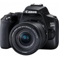 Зеркальная фотокамера Canon EOS 250D kit 18-55 IS STM (3454C007) Black