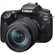 Зеркальная фотокамера Canon EOS 90D + 18-135 IS nano USM (3616C029)