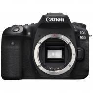 Зеркальная фотокамера Canon EOS 90D Body (3616C026) Black