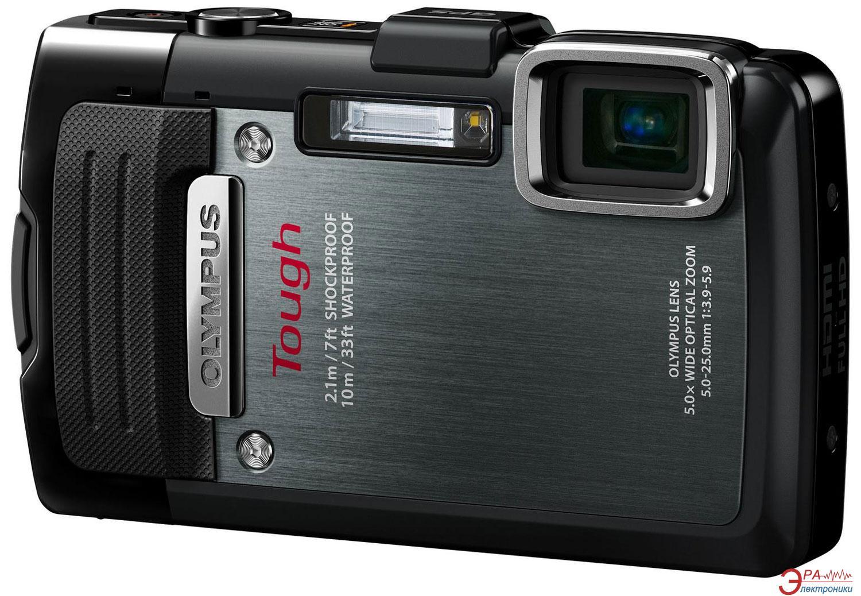 Цифровой фотоаппарат Olympus TG-830 Black (V104130BE050) + карта 4GB + Multi-tools Leatherman