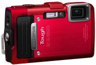 �������� ����������� Olympus TG-830 Red (V104130RE020) + ����� 4GB + Multi-tools Leatherman