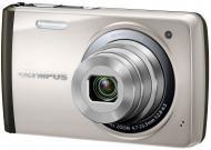 Цифровой фотоаппарат Olympus VH-410 Silver + чехол + карта SDHC 8 Gb