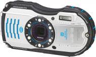 Цифровой фотоаппарат Pentax Optio WG-3 Kit White/Blue (1272202)