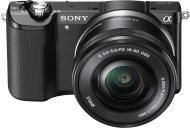 Цифровой фотоаппарат Sony a5000 kit 16-50 Black (ILCE5000LB.CEC)