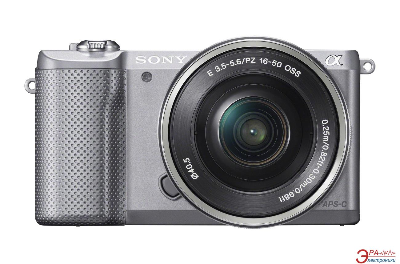 Цифровой фотоаппарат Sony a5000 kit 16-50 Silver (ILCE5000LS.CEC)