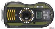 Цифровой фотоаппарат Pentax Optio WG-3 GPS Kit Black\Green (1266103)