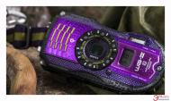 Цифровой фотоаппарат Pentax Optio WG-3 GPS Kit Black\Violet (1267203)
