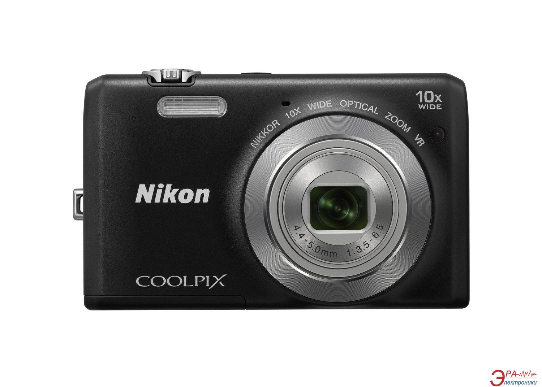 Цифровой фотоаппарат Nikon Coolpix S6700 Black (VNA660E1)