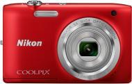 �������� ����������� Nikon Coolpix S2800 Red (VNA572E1)