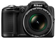 Цифровой фотоаппарат Nikon Coolpix L830 Black (VNA600E1)