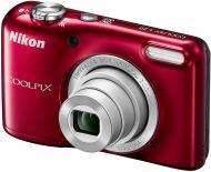 Цифровой фотоаппарат Nikon Coolpix L29 Red (VNA682E1)
