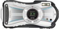 Цифровой фотоаппарат Ricoh WG-20 White\ Black (08061)