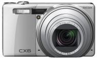 Цифровой фотоаппарат Ricoh CX6 Silver (175704)