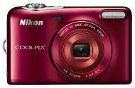 Цифровой фотоаппарат Nikon Coolpix L30 Red (VNA632E1)