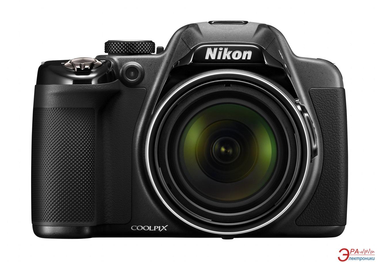 Цифровой фотоаппарат Nikon Coolpix P530 Black (VNA640E1)