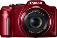 Цифровой фотоаппарат Canon PowerShot SX170 IS Red (8676B013)