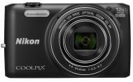 �������� ����������� Nikon Coolpix S6800 Black (VNA520E1)