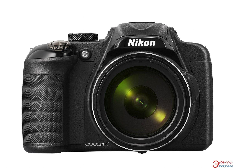 Цифровой фотоаппарат Nikon Coolpix P600 Black (VNA480E1)