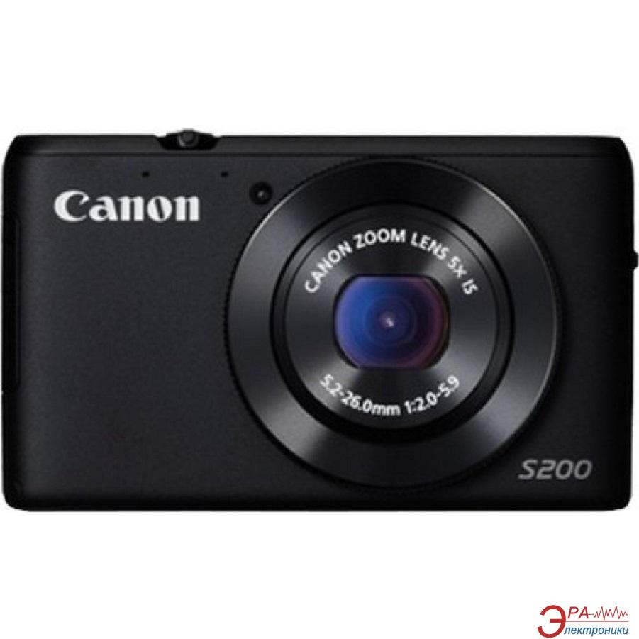 Цифровой фотоаппарат Canon Powershot S200 Black (8408B017)