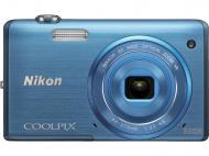 �������� ����������� Nikon Coolpix S5200 Blue (VNA283E1)