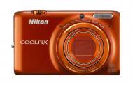 Цифровой фотоаппарат Nikon Coolpix S6500 Orange (VNA275E1)