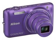 Цифровой фотоаппарат Nikon COOLPIX S6600 Purple (VNA443E1)