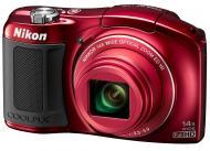Цифровой фотоаппарат Nikon Coolpix L620 Red (VNA471E1)