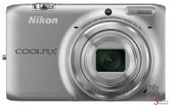 Цифровой фотоаппарат Nikon Coolpix S6500 Premium Kit Silver (VNA270KG02) + кожаный чехол, карта памяти SDHC 4 GB