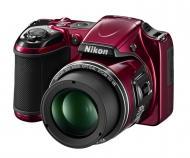 Цифровой фотоаппарат Nikon Coolpix L820 Red (VNA331KH01) + CS-P08