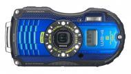Цифровой фотоаппарат Ricoh WG-4 GPS Blue (08556)
