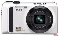 Цифровой фотоаппарат CASIO Exilim EX-ZR300 White + case + SDHC 16 Gb KIT