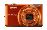 �������� ����������� Nikon Coolpix S6500 Value Kit Orange + case + SDHC 16 Gb